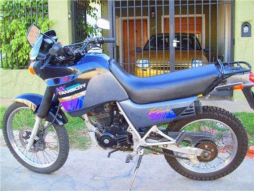 2000 Honda NX125 Trans City #9