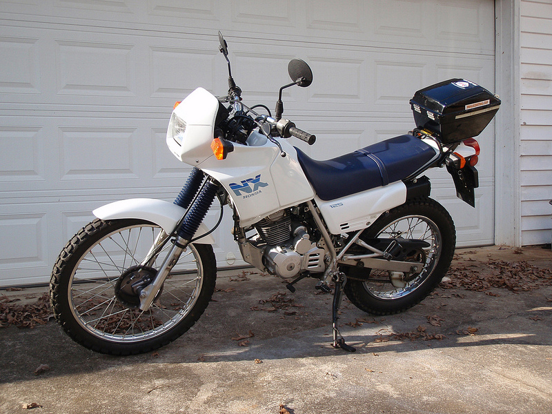 2000 Honda NX125 Trans City #5