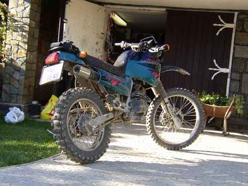 2000 Honda NX125 Trans City #2