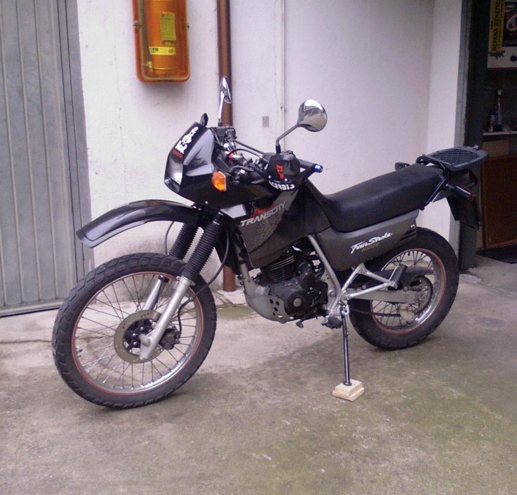 2000 Honda NX125 Trans City #3