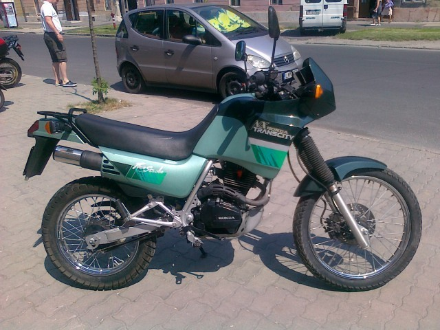 Honda NX125 Trans City #1