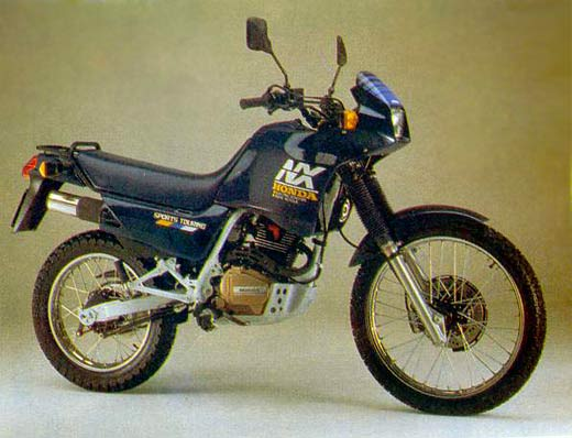 Honda NX125 Trans City #2