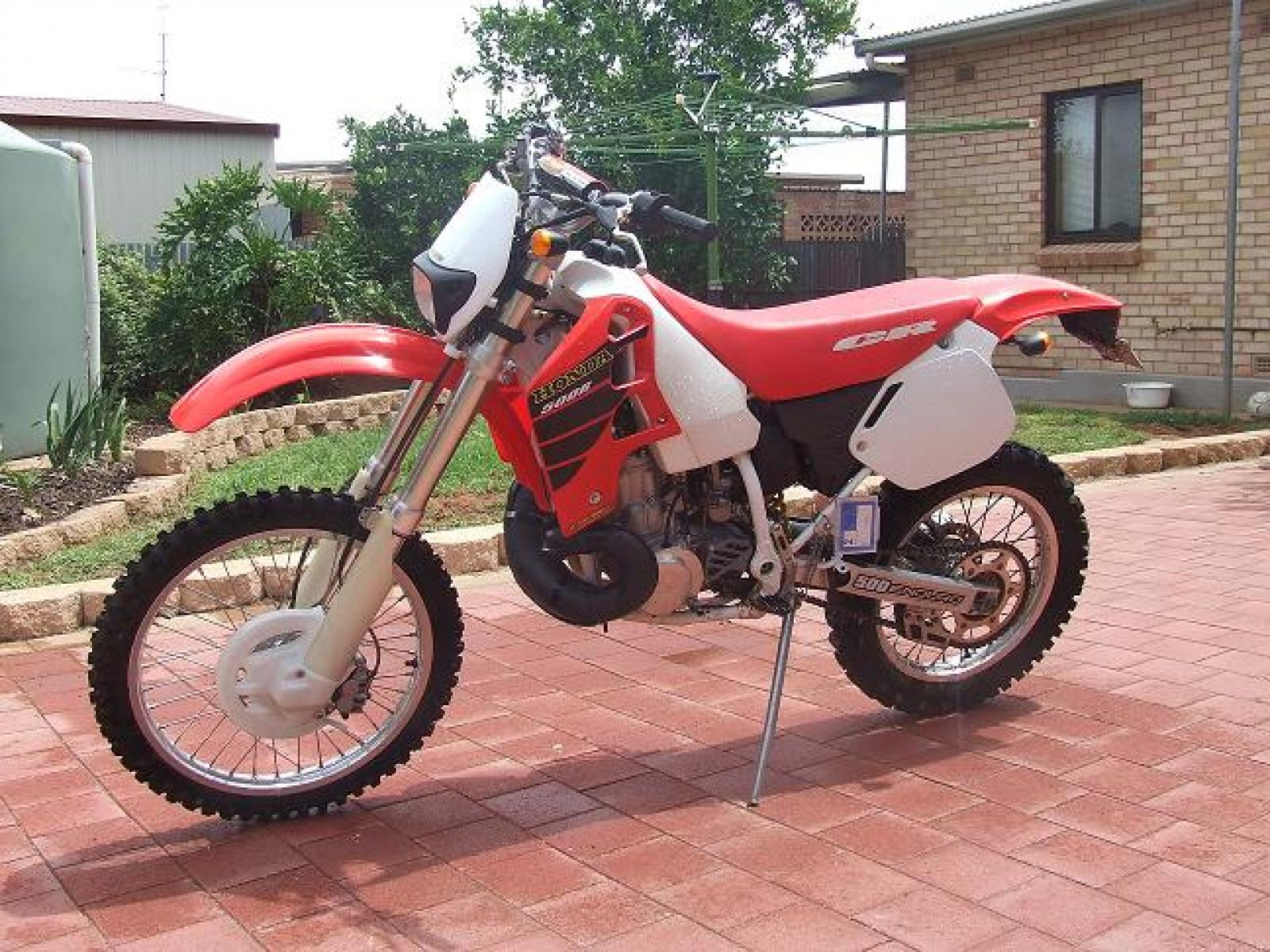 1998 Honda NX125TC Trans City #4