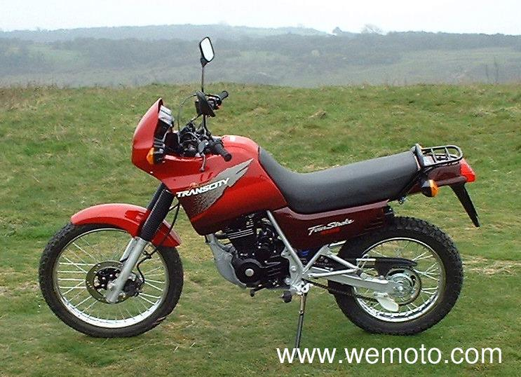 1998 Honda NX125TC Trans City #1