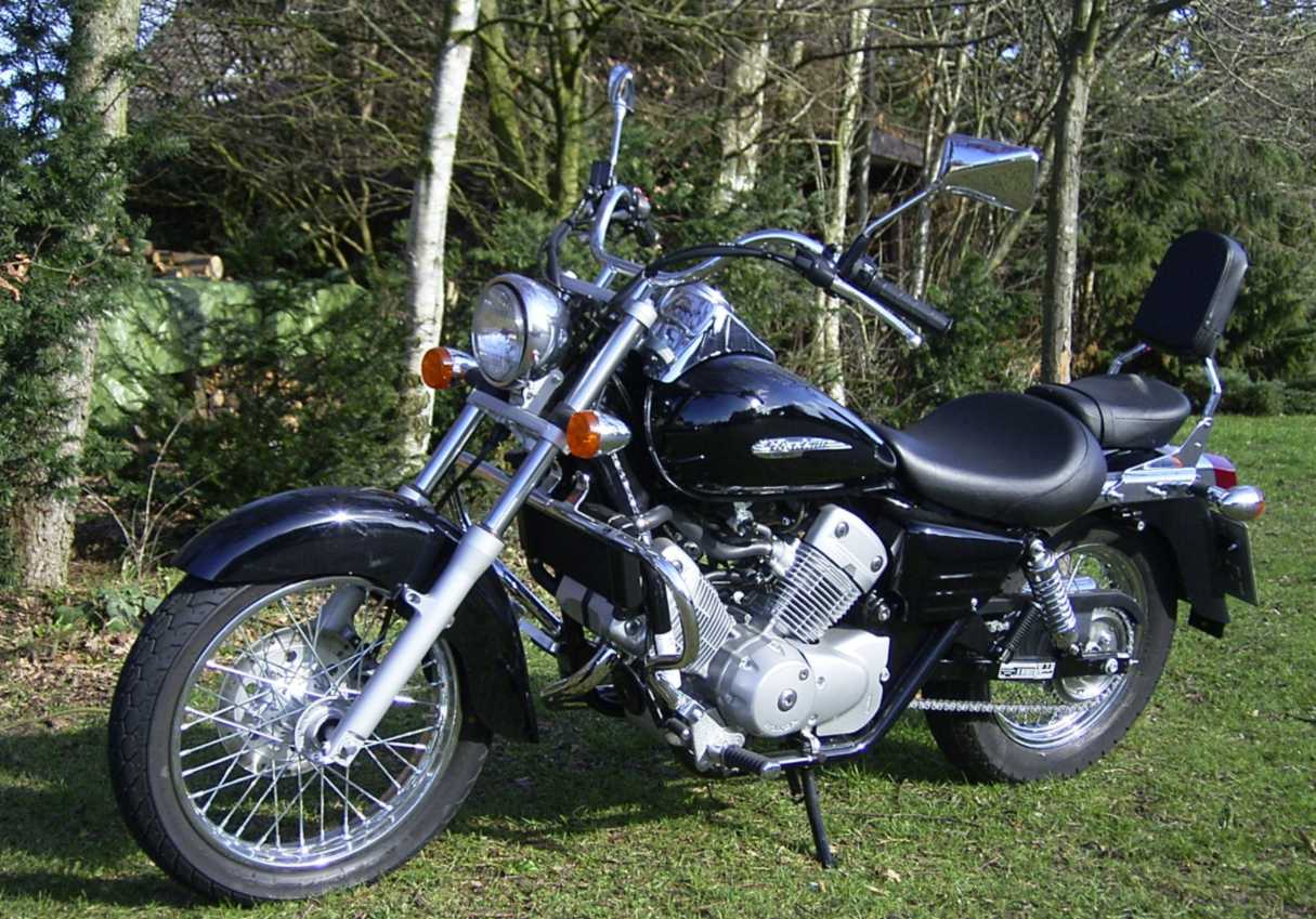 Honda Shadow 125 #2