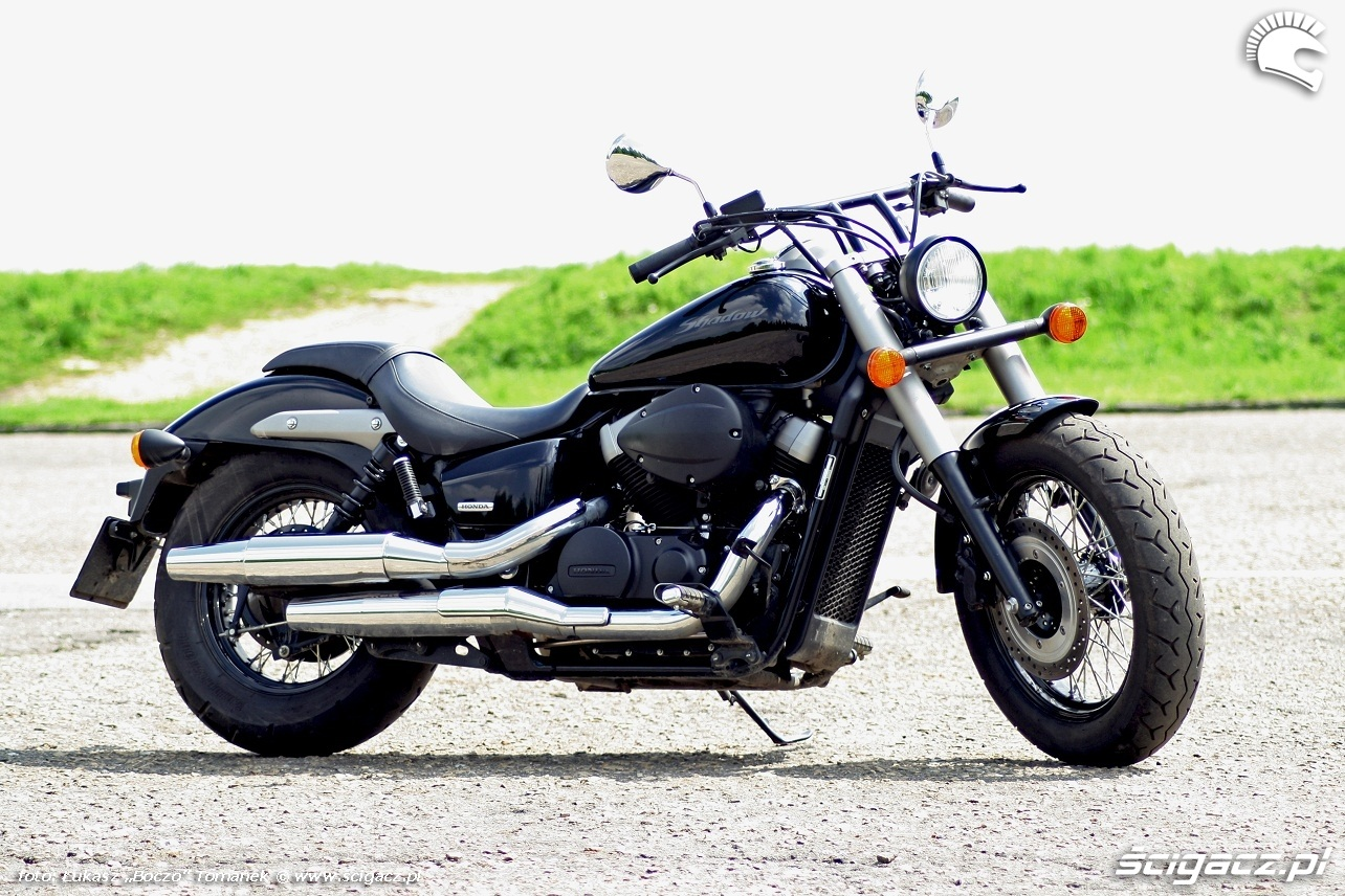Honda Shadow 750 Black Spirit #3