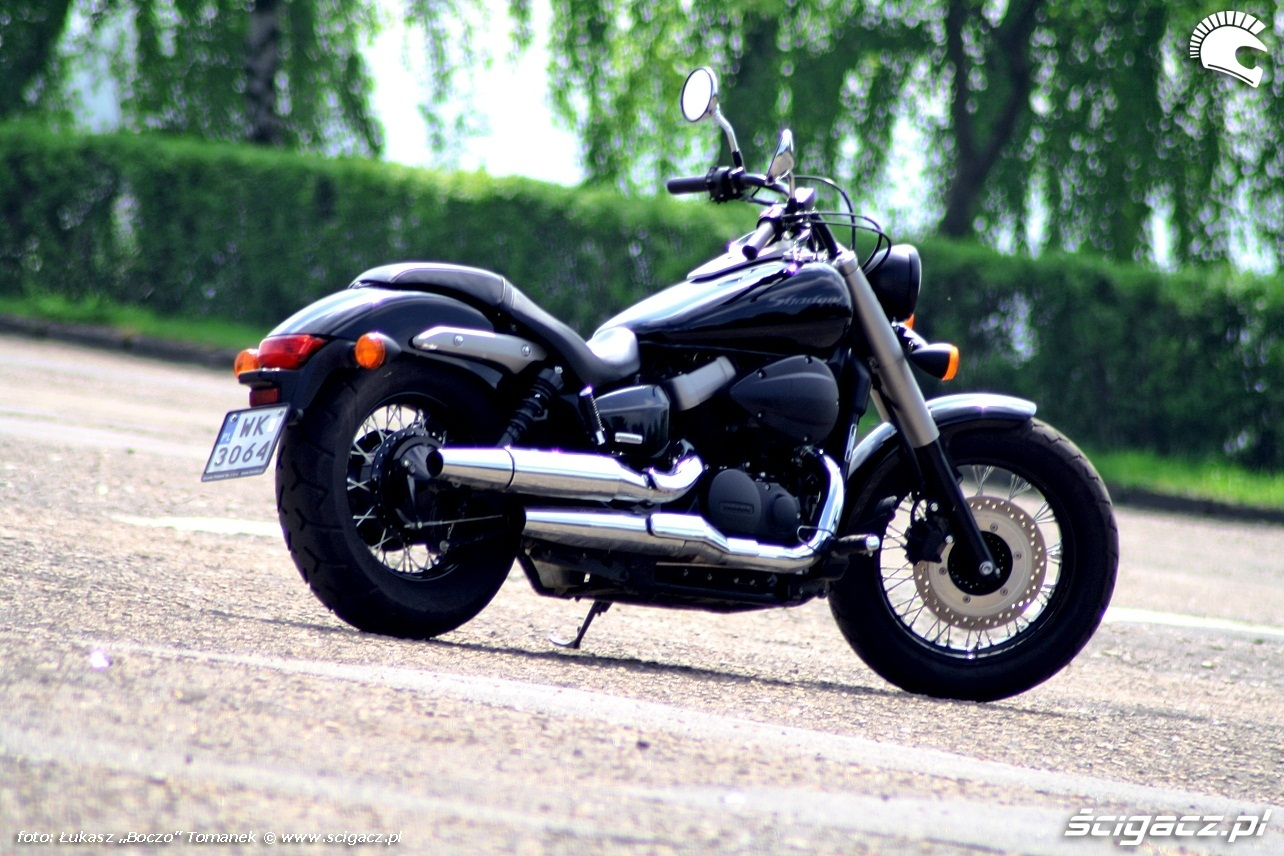 Honda Shadow 750 Black Spirit #6