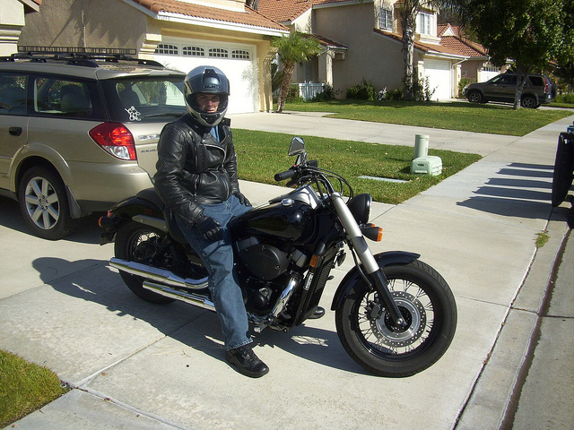 2011 Honda Shadow Phantom #8
