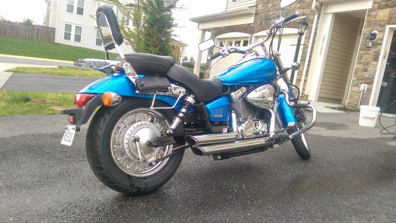 2007 Honda Shadow Spirit 750 (VT750C2) #7
