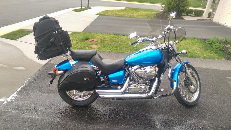 2007 Honda Shadow Spirit 750 (VT750C2) #8