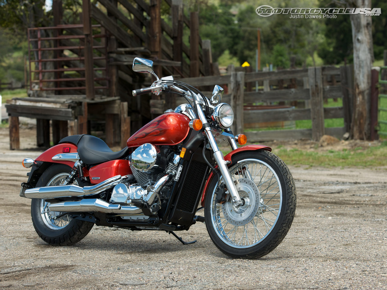 Honda Shadow Spirit #4