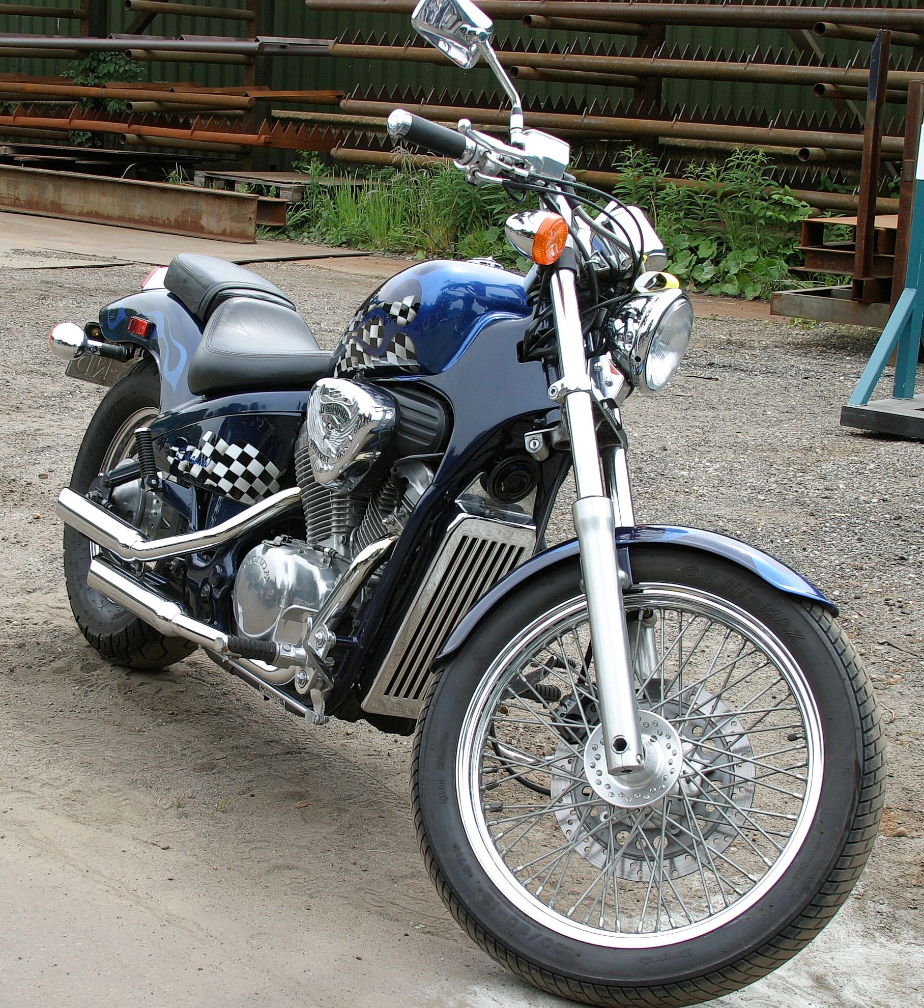 1995 Honda VF750C Shadow #7