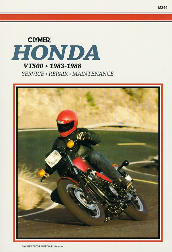 1983 Honda VT500C (reduced effect) #10