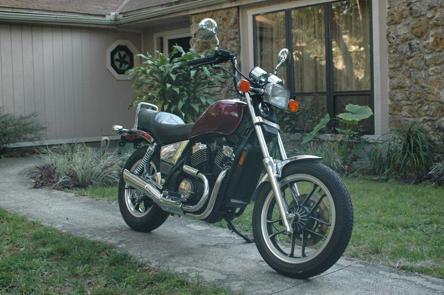 1983 Honda VT500C (reduced effect) #5