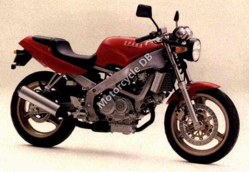 1989 Honda VT600C (reduced effect) #7