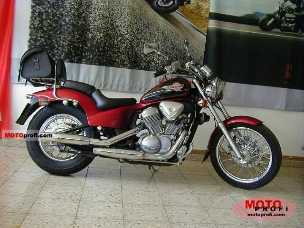 1989 Honda VT600C (reduced effect) #2