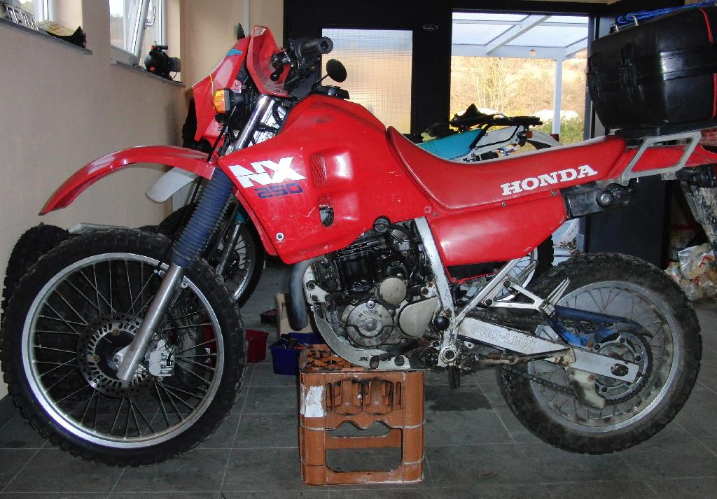 1989 Honda VT600C (reduced effect) #8