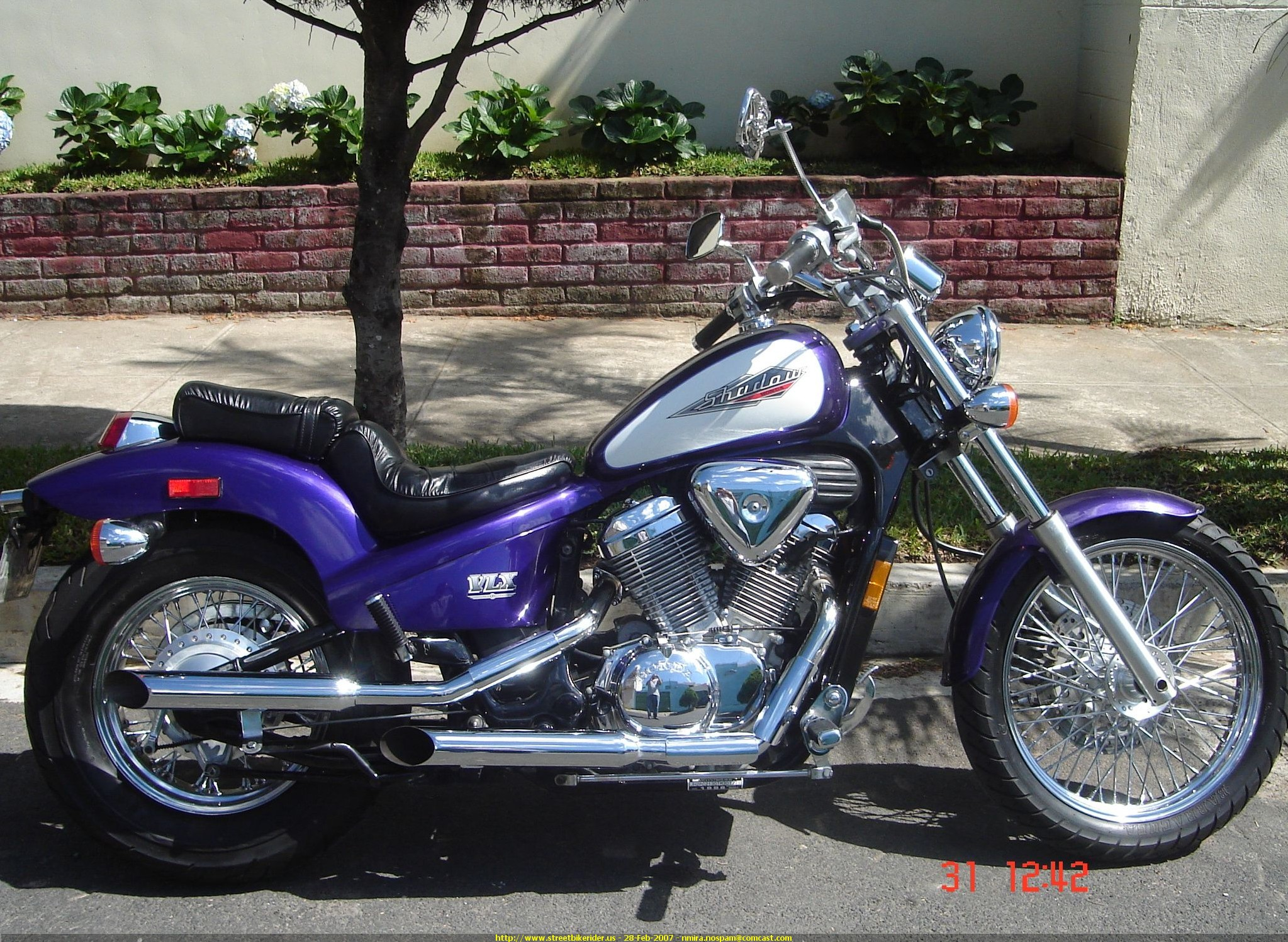 1996 Honda VT600C Shadow #8