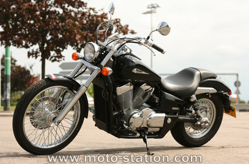 2009 Honda VT750DC Shadow Spirit #7