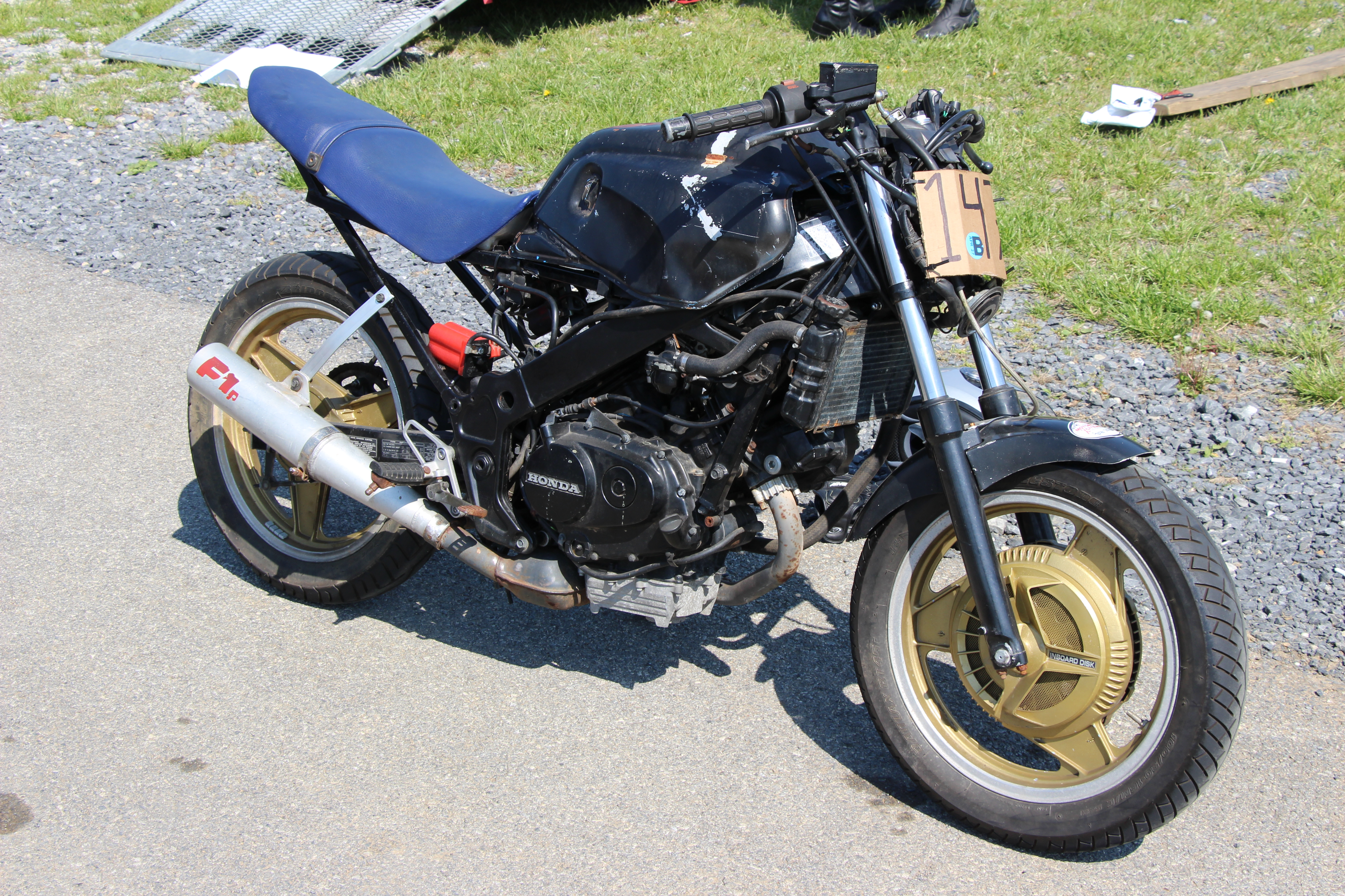 Honda VTR250 Interceptor #7