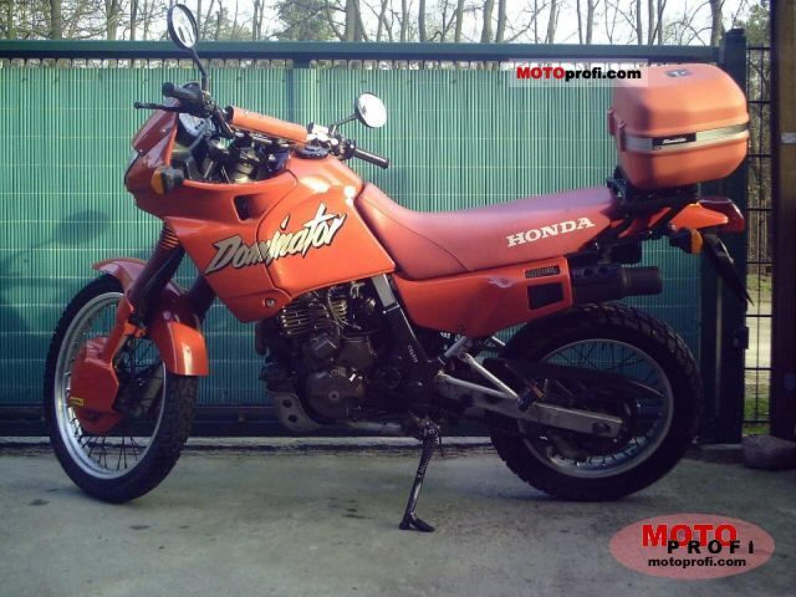 1988 Honda XL600V Transalp (reduced effect) #10