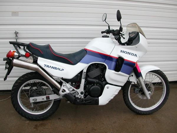 1988 Honda XL600V Transalp (reduced effect) #2