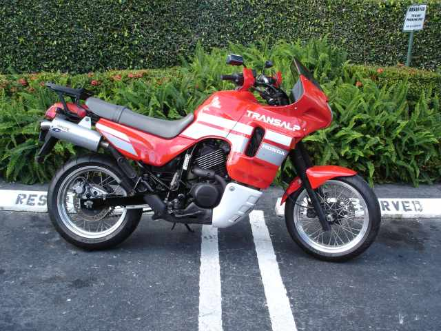 1988 Honda XL600V Transalp (reduced effect) #6