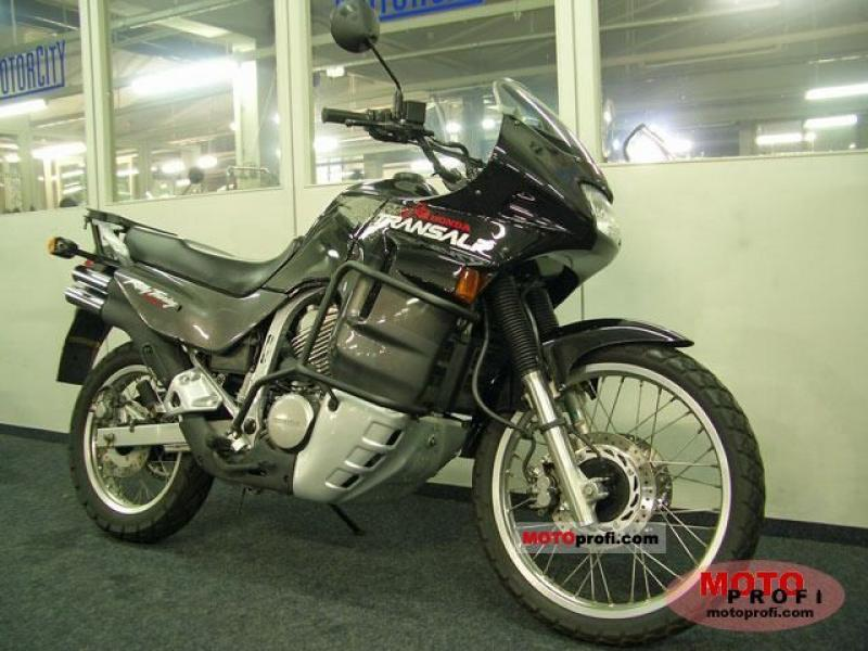 1988 Honda XL600V Transalp (reduced effect) #8