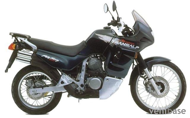 1988 Honda XL600V Transalp (reduced effect) #4