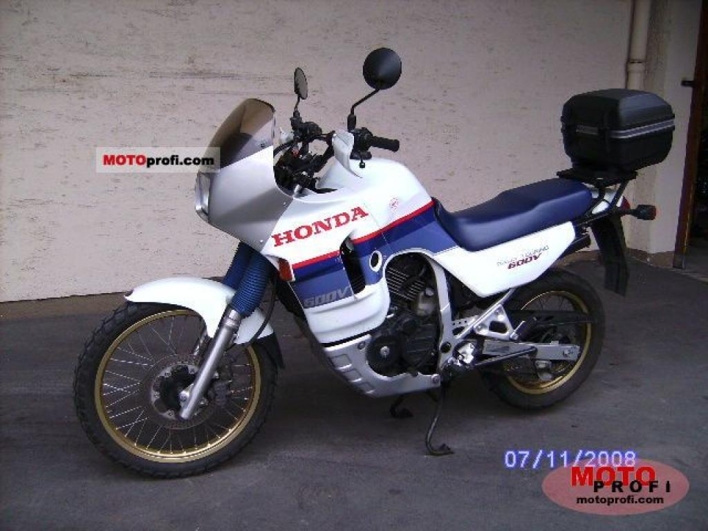 1988 Honda XL600V Transalp (reduced effect) #1