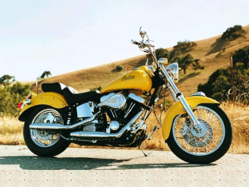 1993 Indian Scout 86 #3