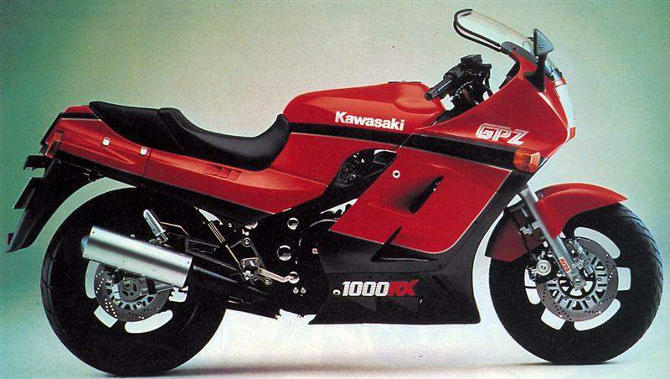 1986 Kawasaki GPZ1000RX (reduced effect) #2