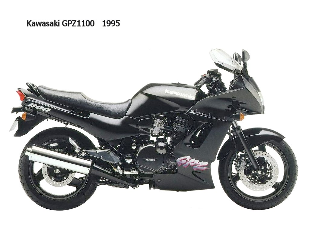 1985 Kawasaki GPZ1100 (reduced effect) #6
