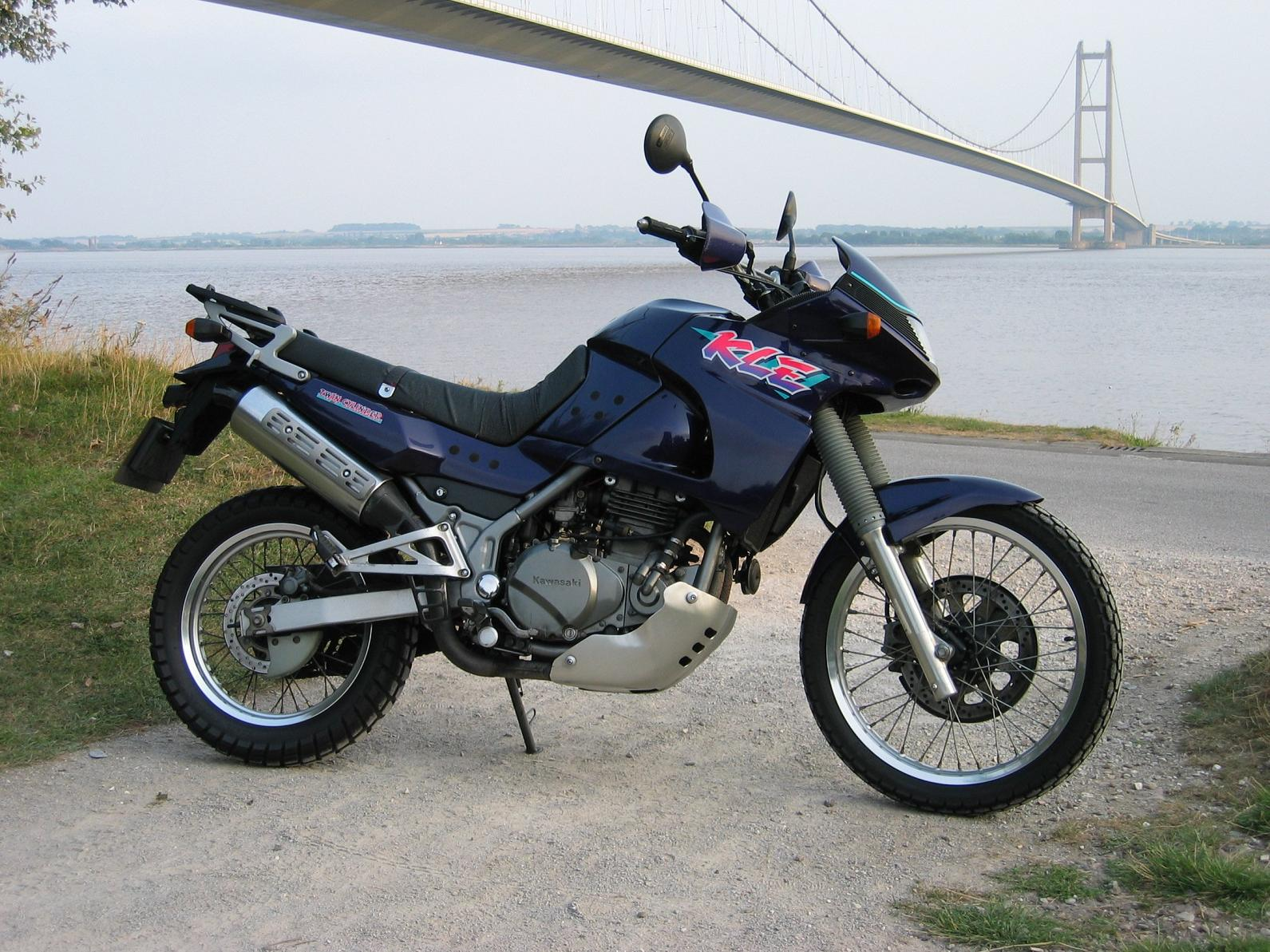 Kawasaki KLE500 (reduced effect) #6