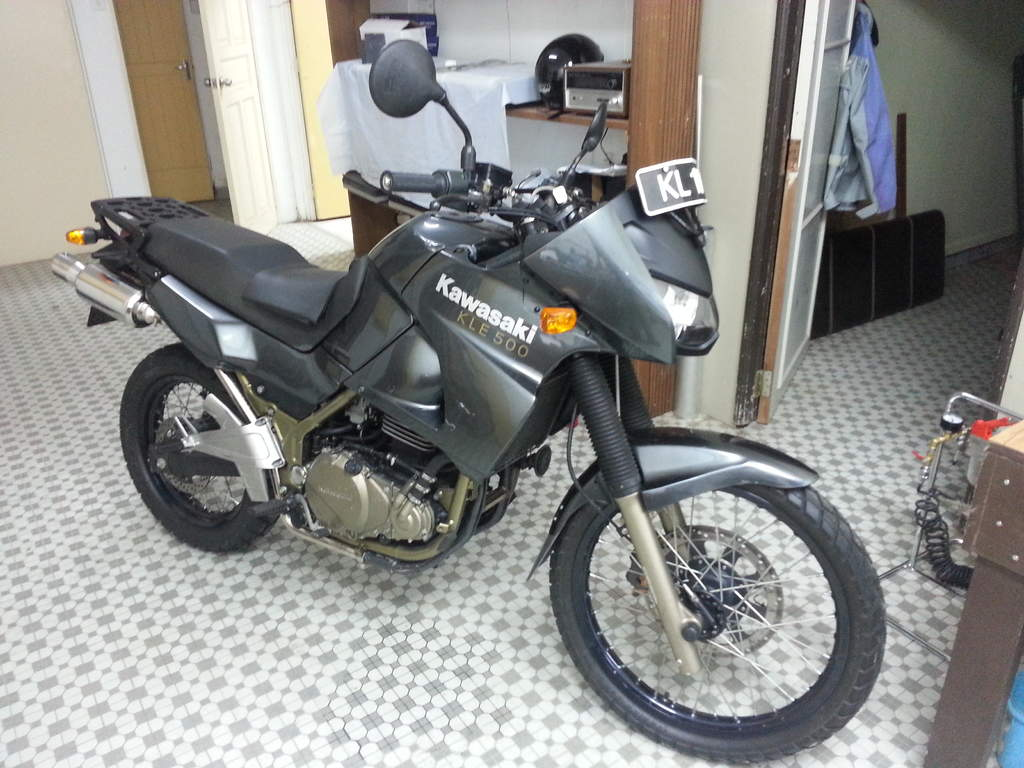 Kawasaki KLE500 (reduced effect) #2