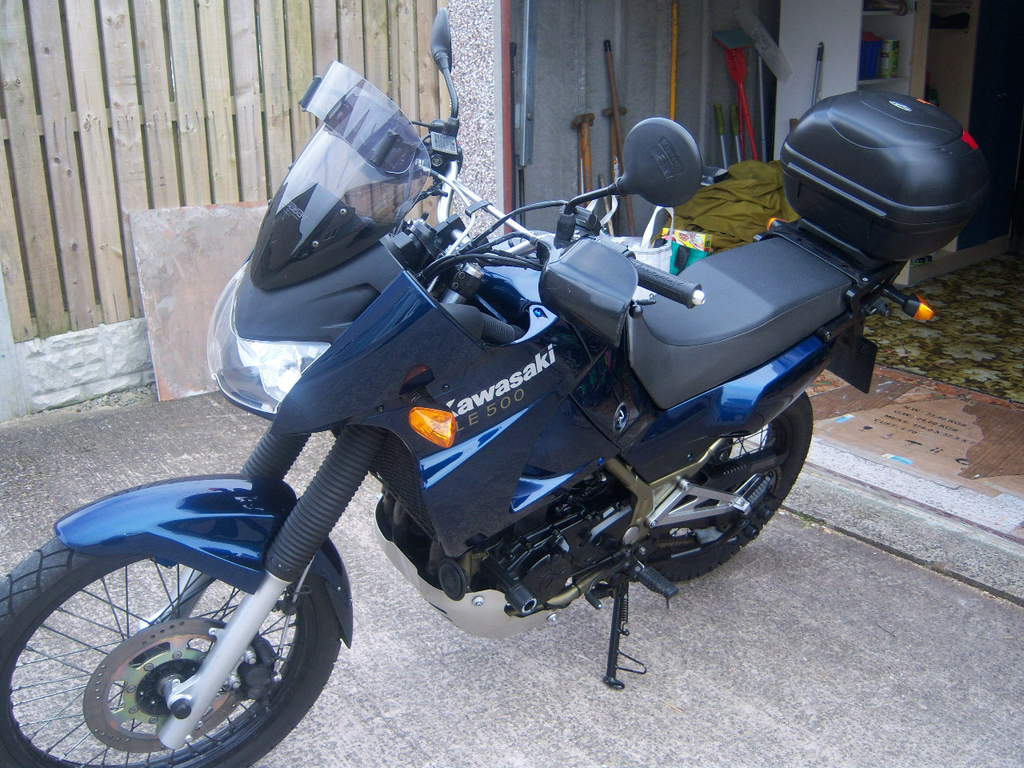 Kawasaki KLE500 (reduced effect) #4