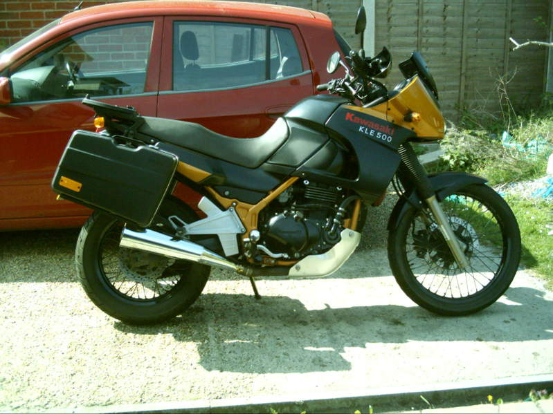 Kawasaki KLE500 (reduced effect) #7