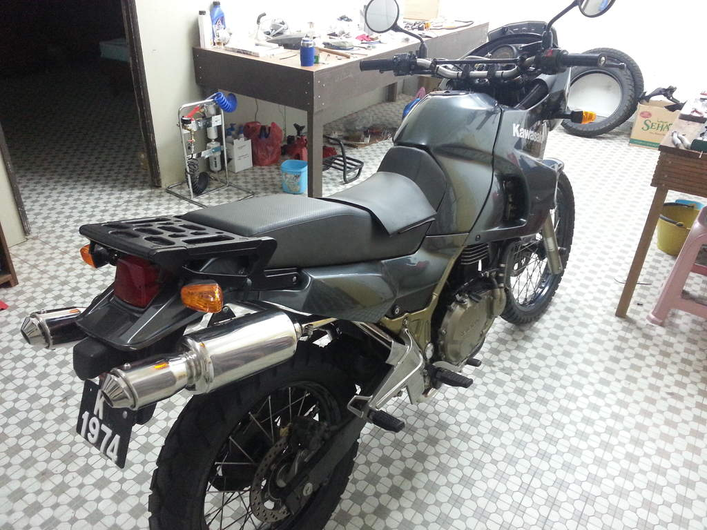 Kawasaki KLE500 (reduced effect) #3