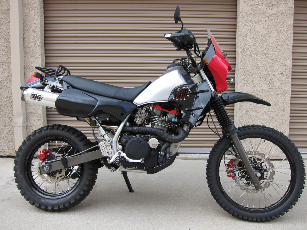 Kawasaki KLR650 (reduced effect) #4