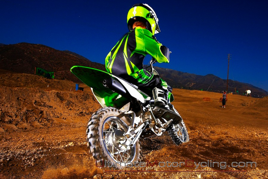 Kawasaki KLX110L Off-Road #2