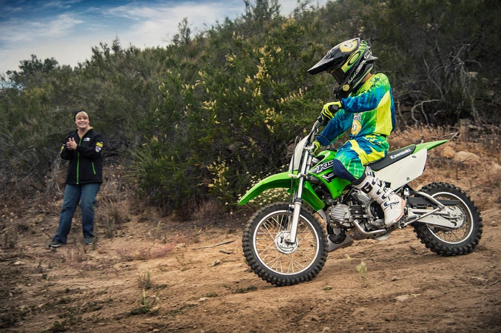 Kawasaki KLX110L Off-Road #6