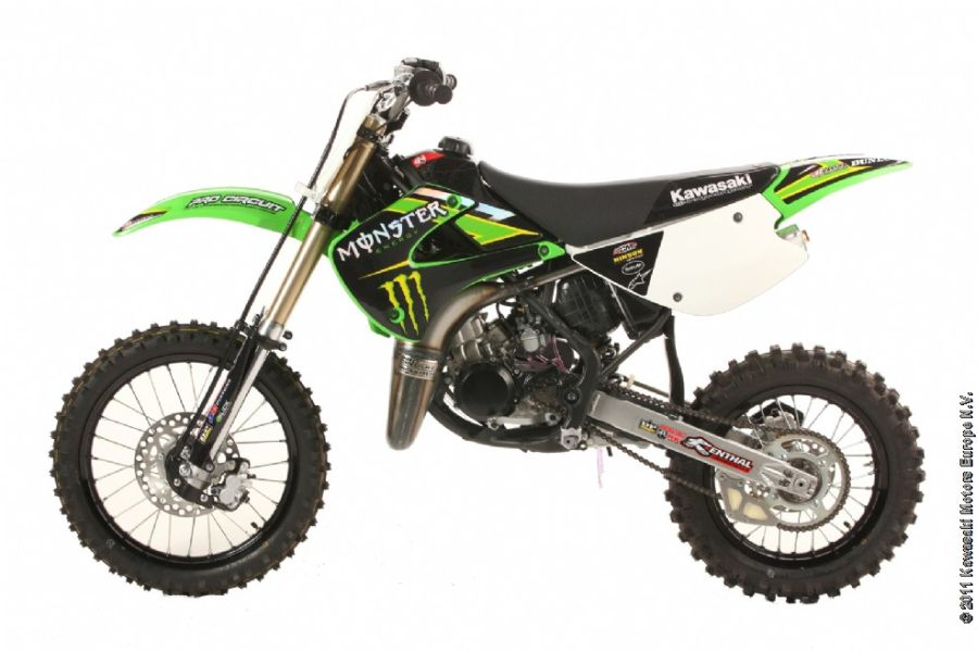 Kawasaki KX100 Monster Energy #2