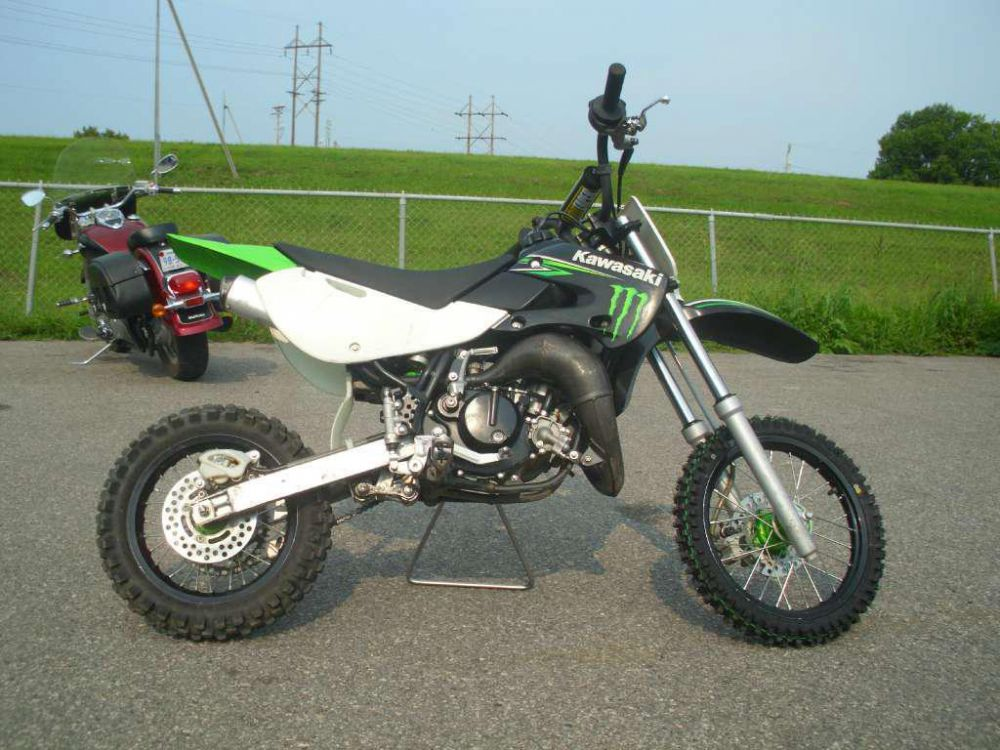 2009 Kawasaki KX65 Monster Energy #1