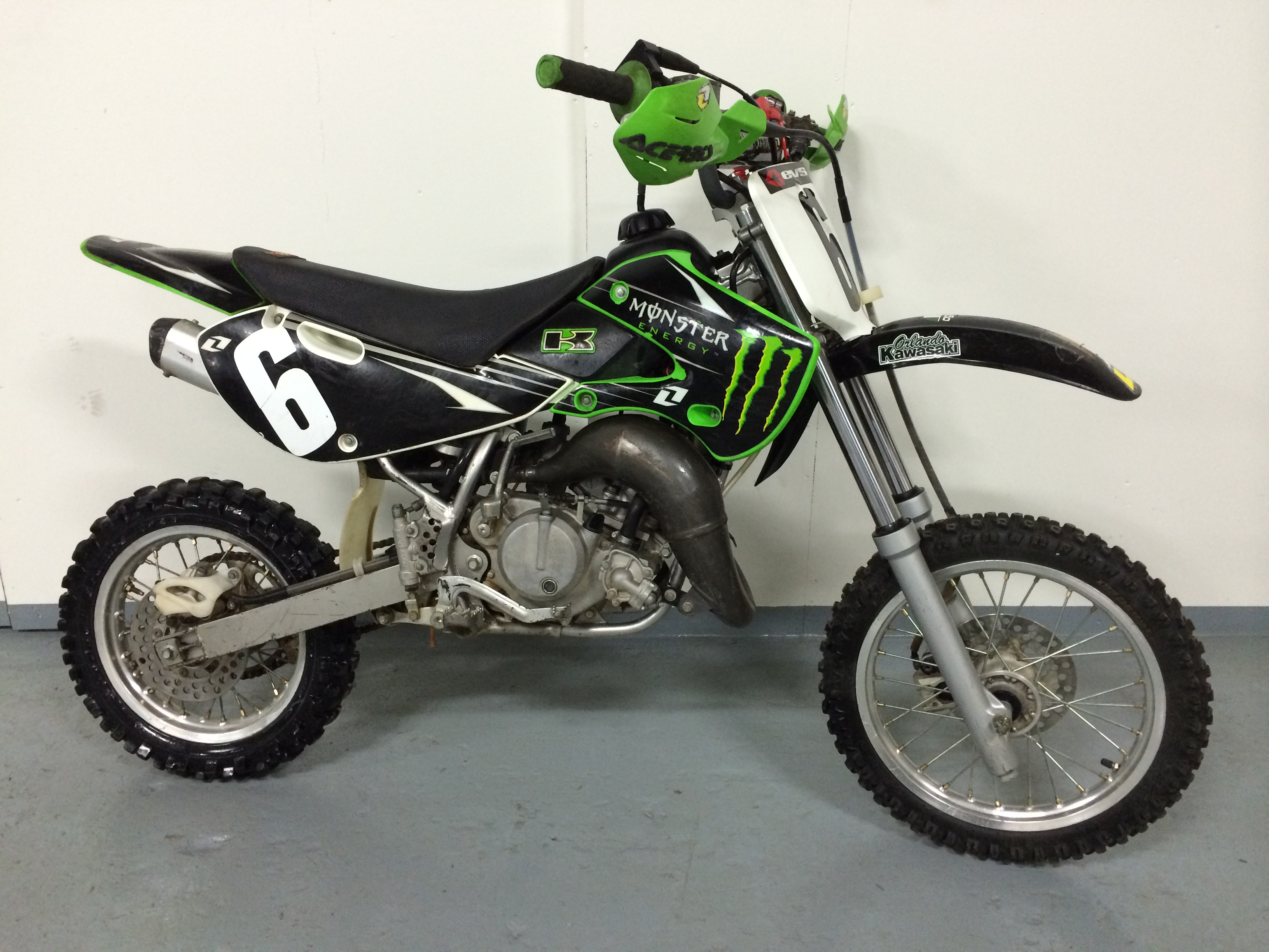 Kawasaki KX65 Monster Energy #1