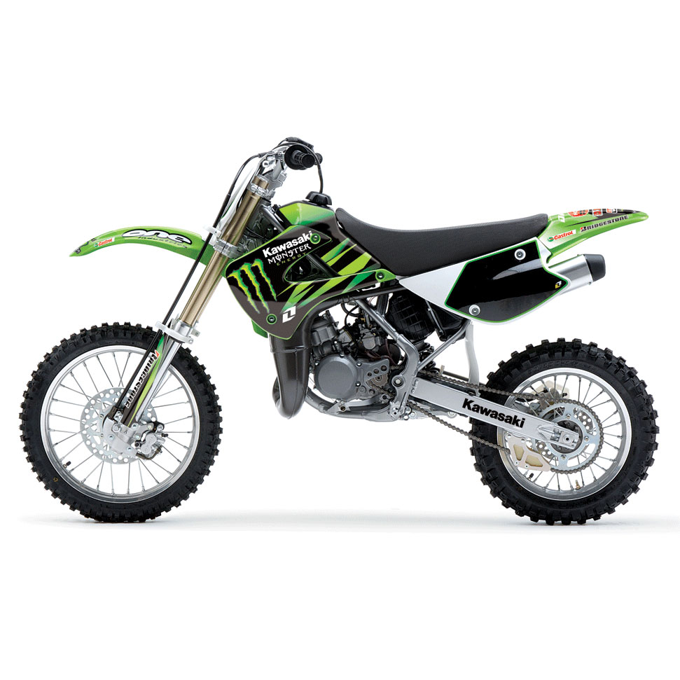 2010 Kawasaki KX85 Monster Energy #3