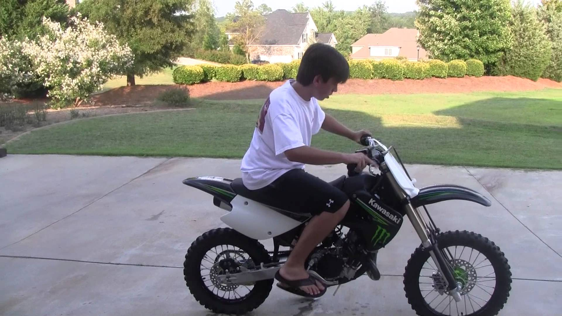 2010 Kawasaki KX85 Monster Energy #6