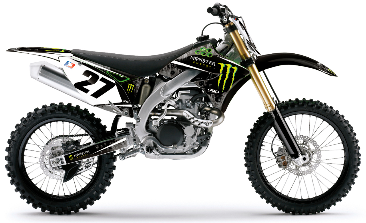 2010 Kawasaki KX85 Monster Energy #2