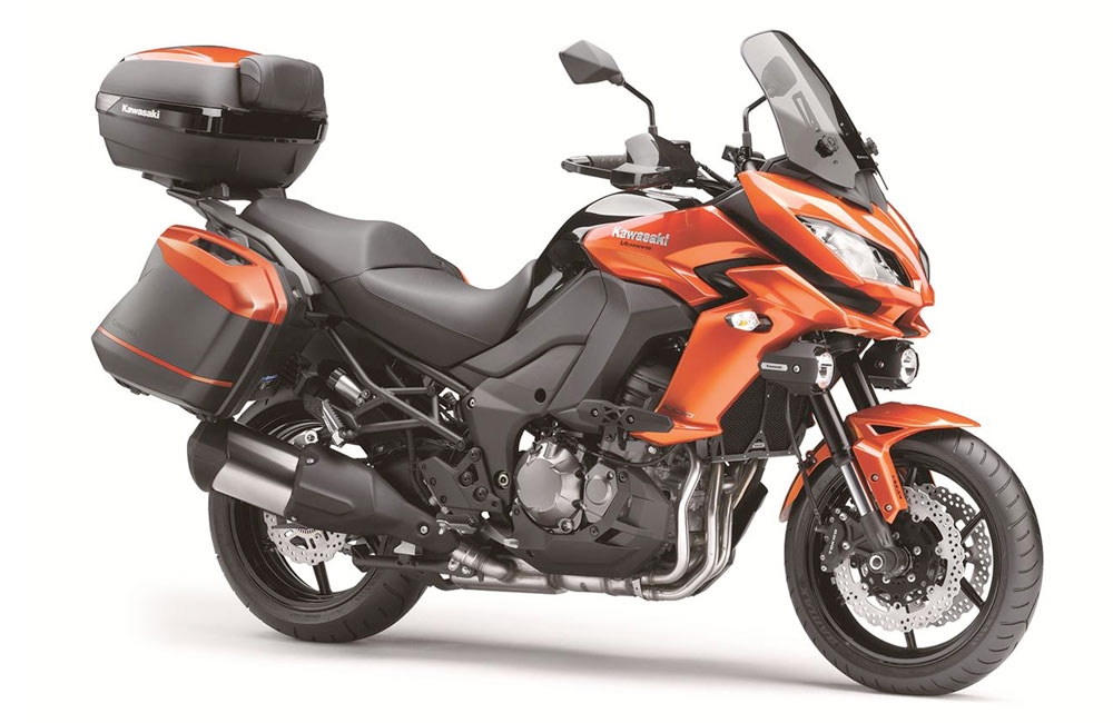 Kawasaki Versys 1000 Grand Tourer #4
