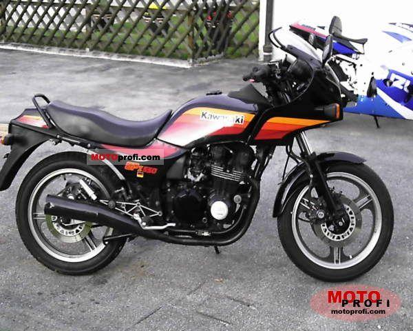 1984 Kawasaki Z400F (reduced effect) #10