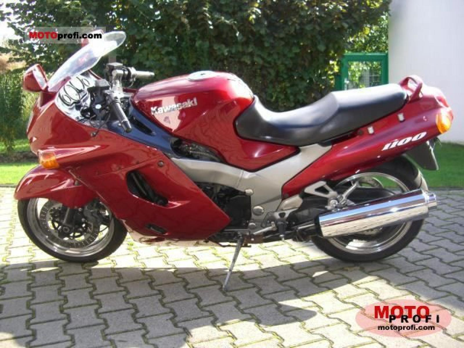 Kawasaki ZZR1100 (reduced effect) #6
